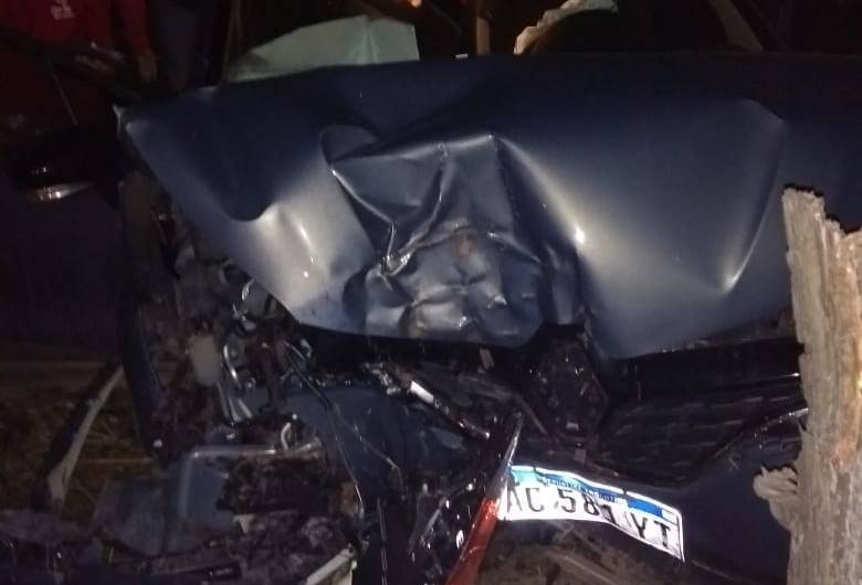 Cuatro mercedinos chocaron en la Ruta 6, de Marcos Paz a Luján