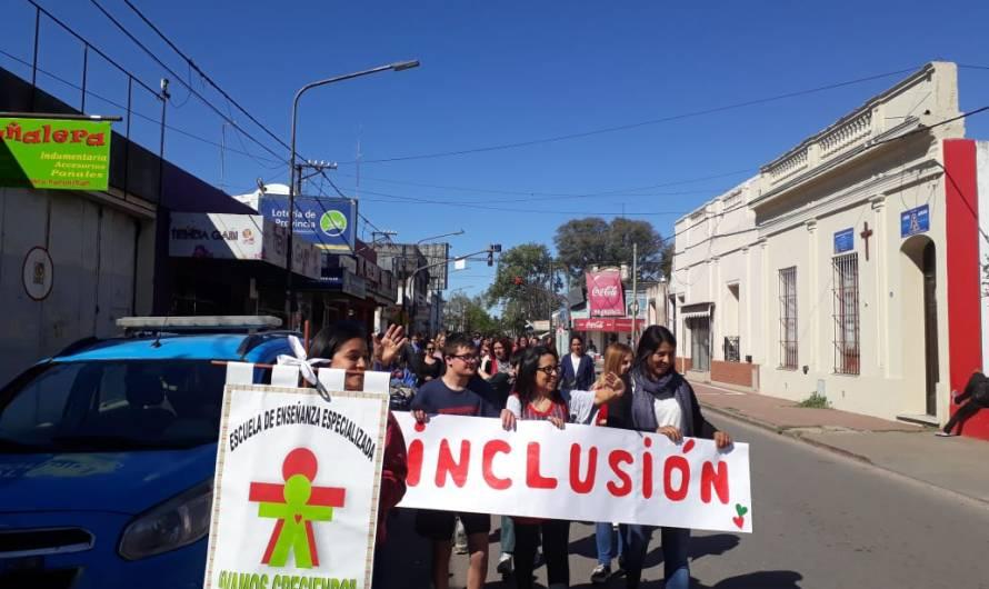 Vamos Creciendo caminó por la inclusión en la Semana de la Persona con Discapacidad