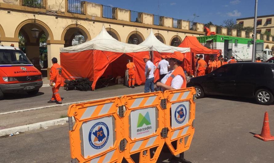 Protección Civil montó puesto de acompañamiento a mercedinos en Peregrinación a Luján
