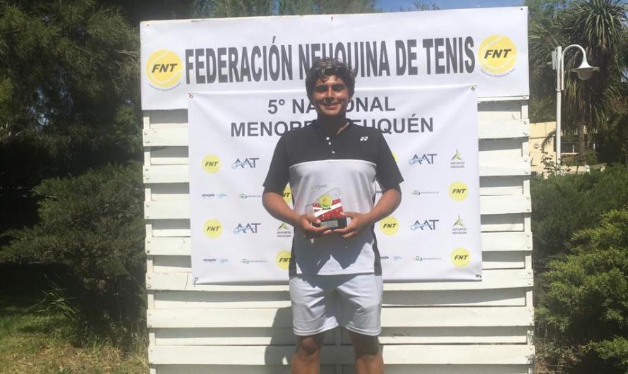 Thiago Pernas, campeón nacional en Neuquén
