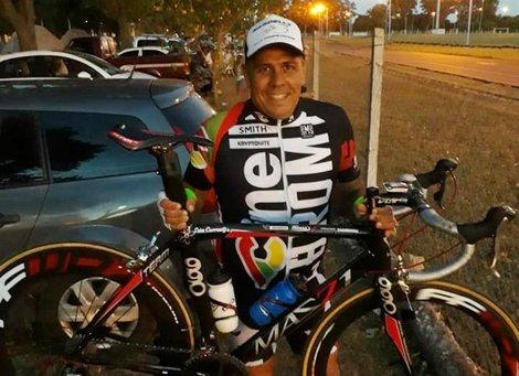 Un ciclista falleció durante una competencia en San Andrés de Giles