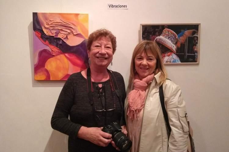 Diana Manos y Florencia Rulli: Alusiones en foto y abstracción