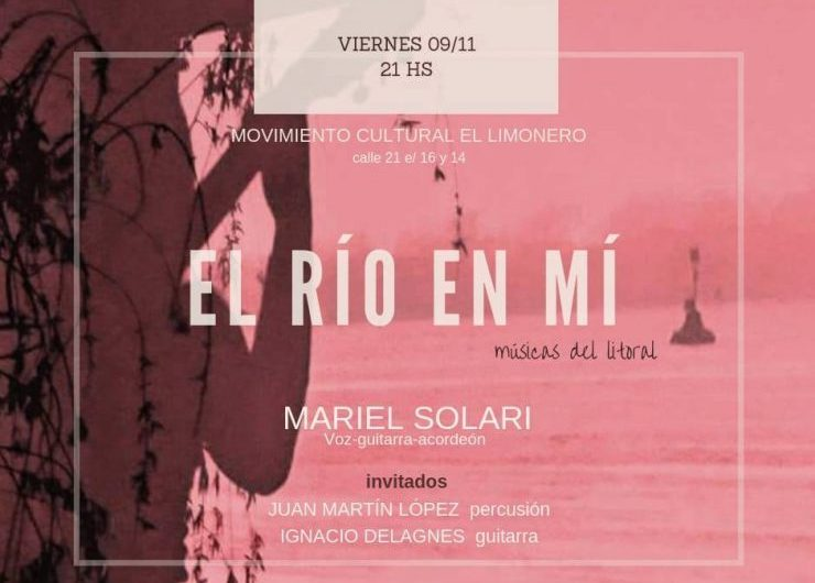 Música del Litoral de la mano de Mariel Solari