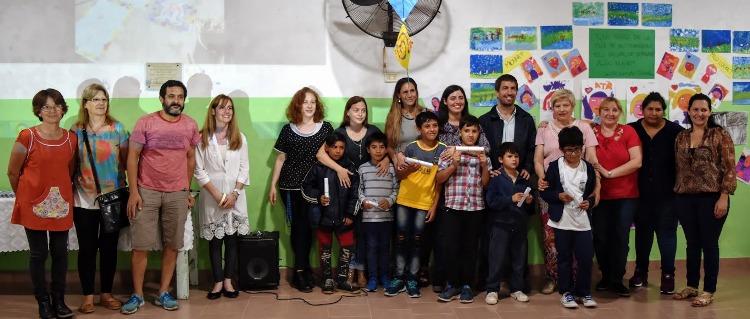Casa del niño: Cerraron los cursos de arteterapia