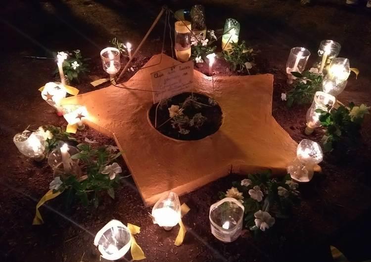 Fotos y marcha de velas por las víctimas fatales de siniestros viales
