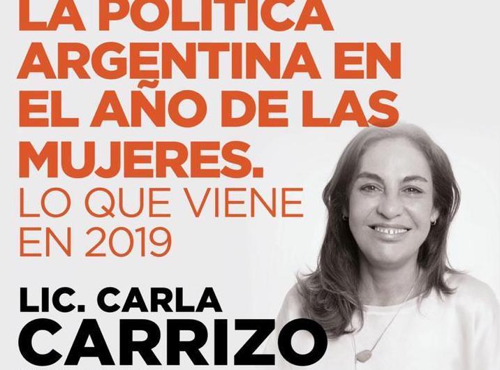 Cierre de charlas con la Diputada Carla Carrizo