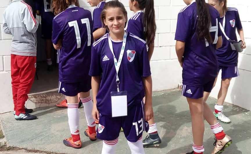 Hoy Juana Cángaro jugará la final de la Liga Desarrollo Conmebol con River Plate