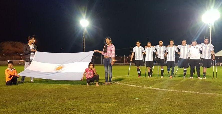 La Selección Argentina quedó undécima en el Mundial de Amputados