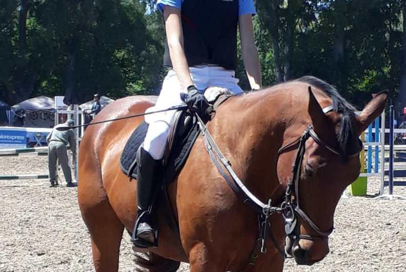 Margarita Bustos en la Final de Ponys y Complementarios