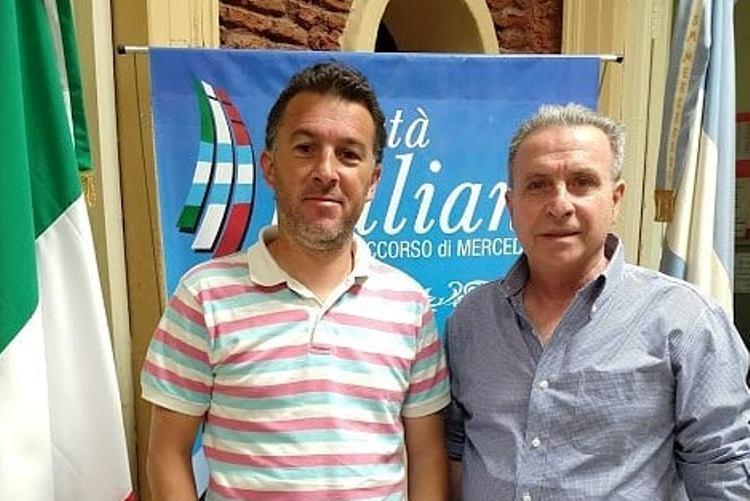 La Sociedad Italiana y la Liga Mercedina firman acuerdo para que los infantiles accedan a cursos de idiomas