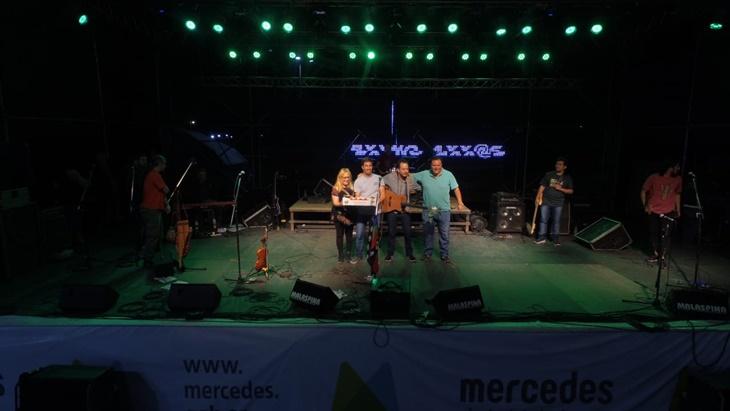 Bruno Arias sobre el escenario