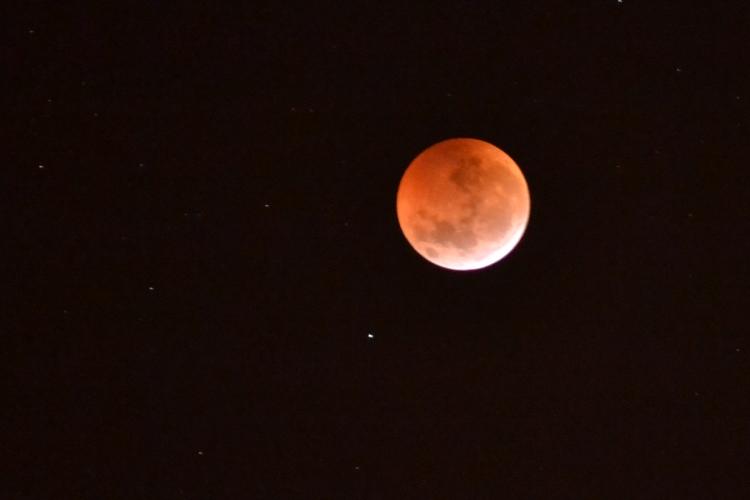 Observatorio colmado para ver el eclipse