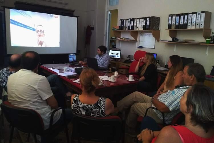 Concejales tuvieron una teleconferencia con Ingeniero de la UNLP