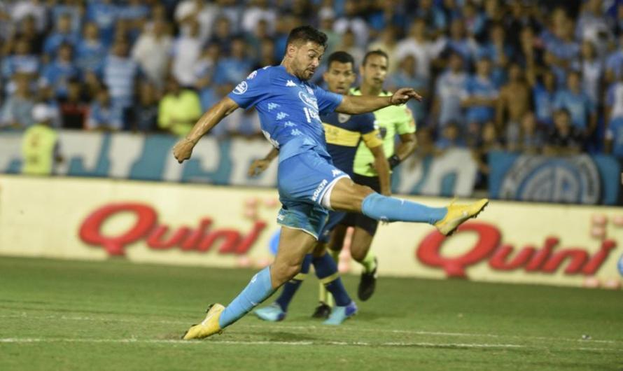Reviví el gol de Federico Lértora para el empate de Belgrano ante Boca