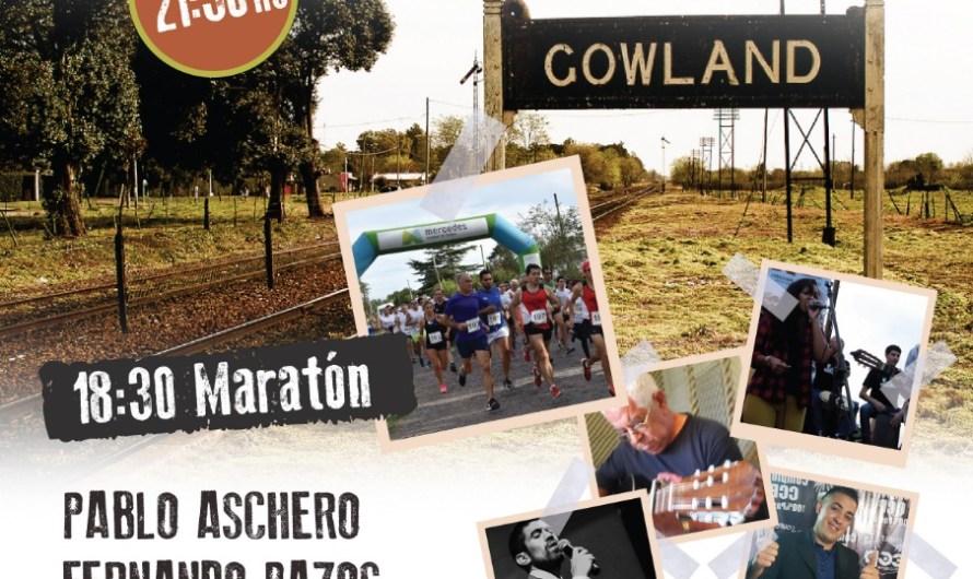 En Gowland se correrá una prueba atlética por el 131 aniversario de la localidad