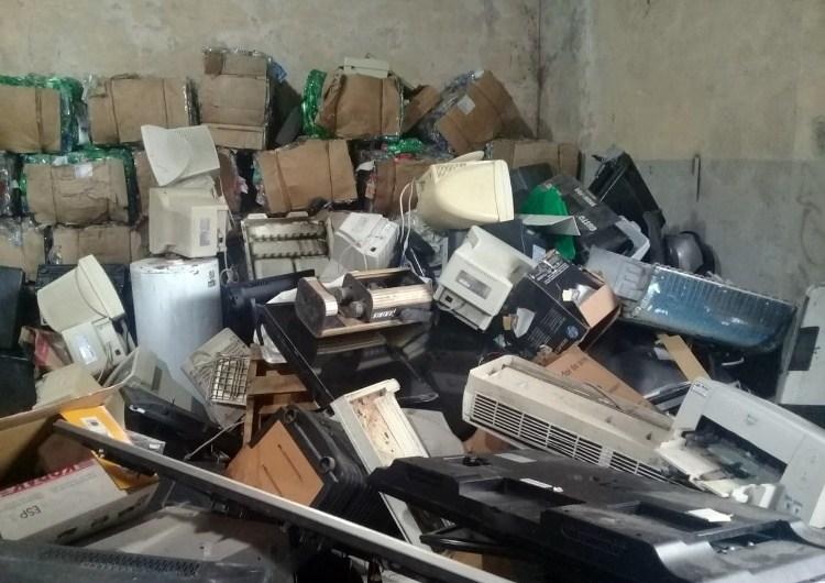 Procesan para su reciclado 10 toneladas de residuos electrónicos
