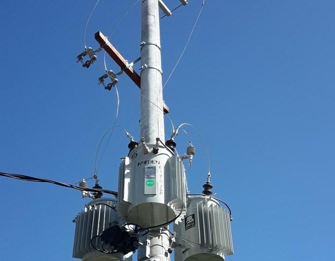 Construyen dos nuevos centros de transformación de energía eléctrica