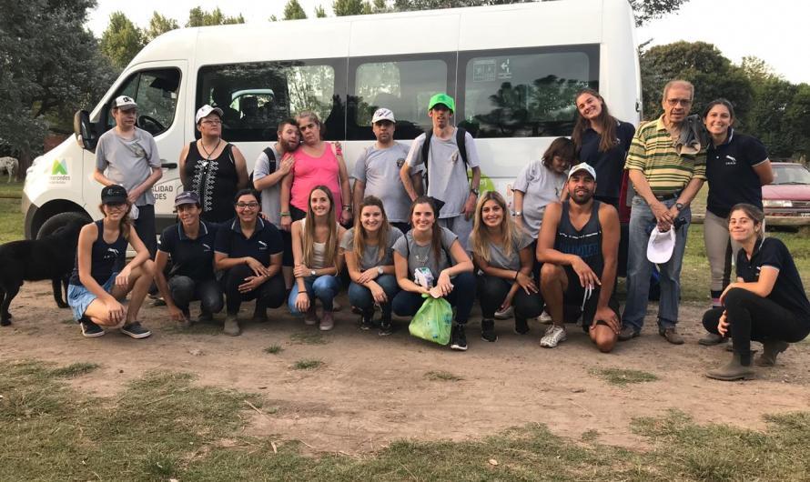 La Sociedad Rural Mercedes realizó una jornada de equinoterapia
