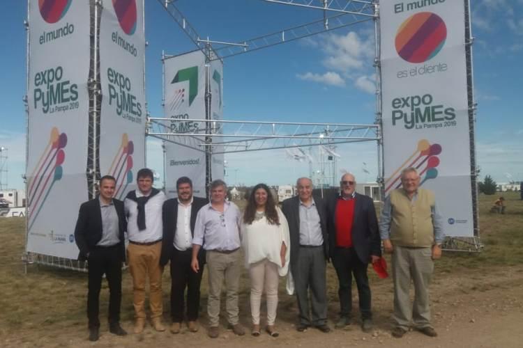 La CEM participó de reunión del corredor en ExpoPyme de La Pampa