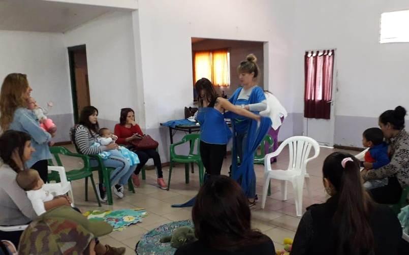 Programa Mil días: Realizaron talleres en la zona rural