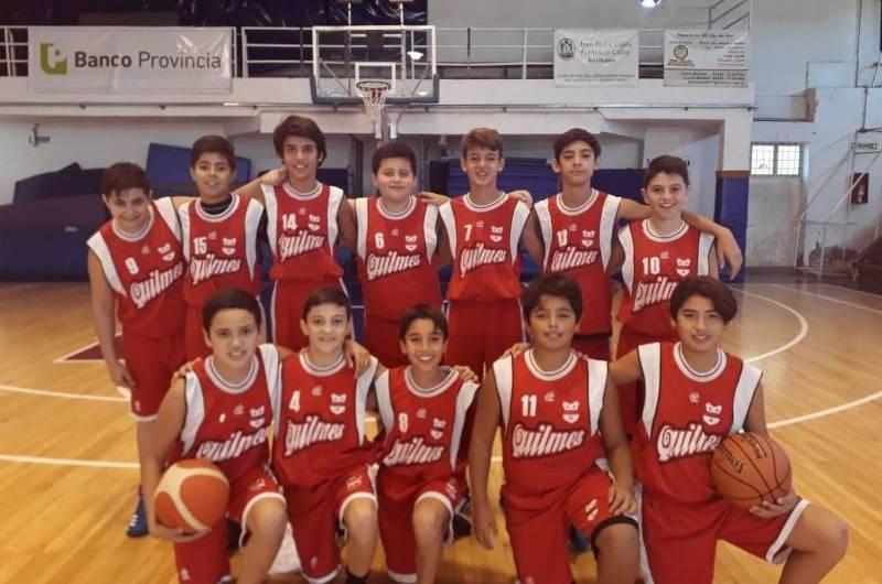 Quilmes se quedó con los triunfos en Mini y U13 ante Bragado Club