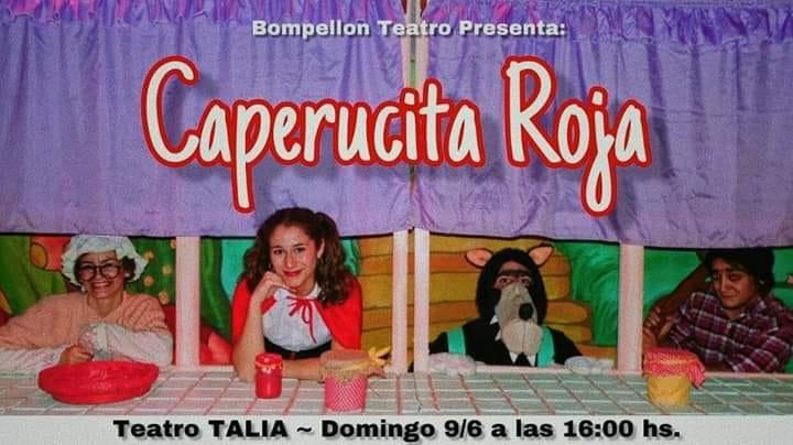 Teatro infantil en el Talía con Caperucita Roja