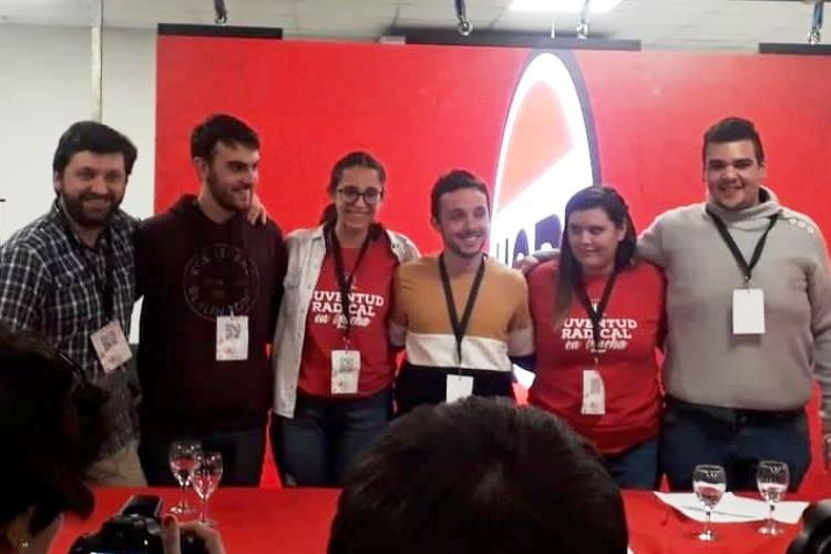 Esteban Biagini delegado nacional de la Juventud Radical