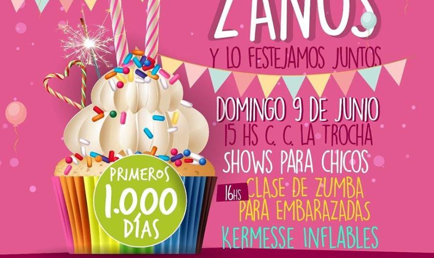 """Invitan a pasar el domingo en La Trocha con juegos, entretenimiento y """"1000 Días"""""""