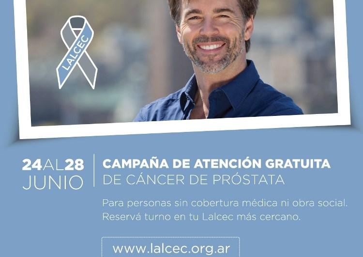 LALCEC busca concientizar sobre el cáncer de próstata