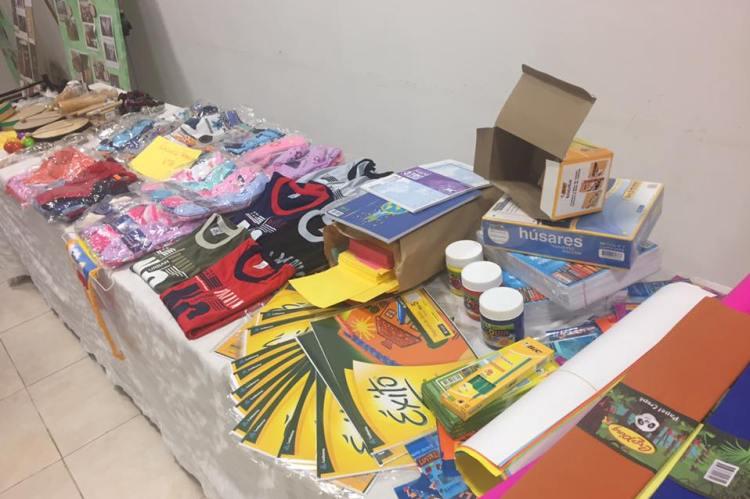Rotary Bulevar 40 entregó donaciones a jardines y escuelas