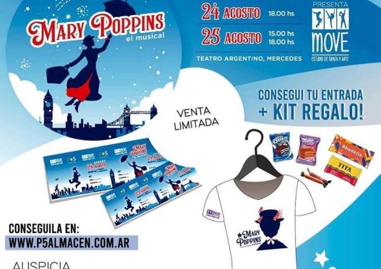 El musical de Mary Poppins llegará al teatro municipal