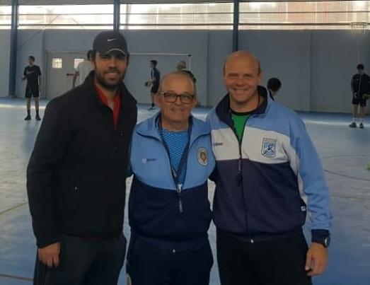 UNLu visitó en el «Pablo Brienza» a la Escuela Municipal de Handball