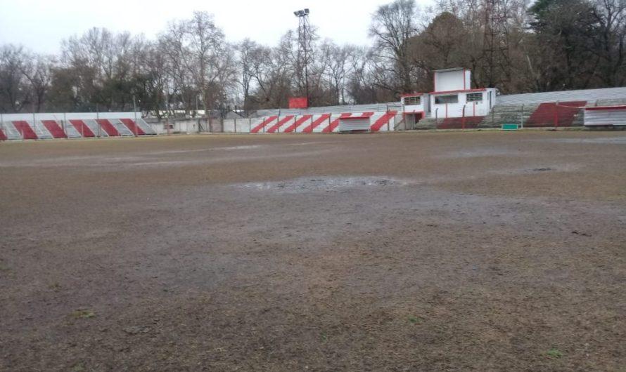 La lluvia obligó a suspender el encuentro entre El Frontón y Los Carteros