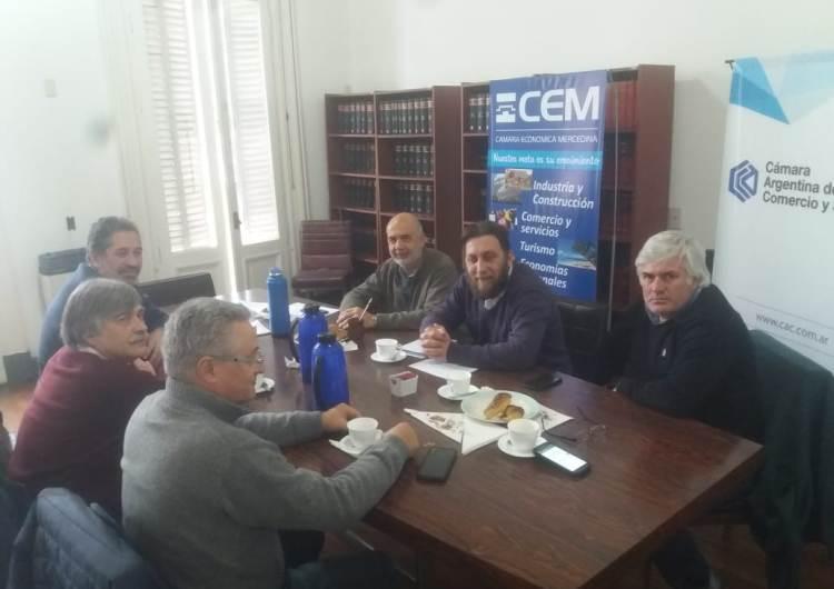 La CEM se reunió con el área de Economía Municipal por la Tasa de Seguridad e Higiene
