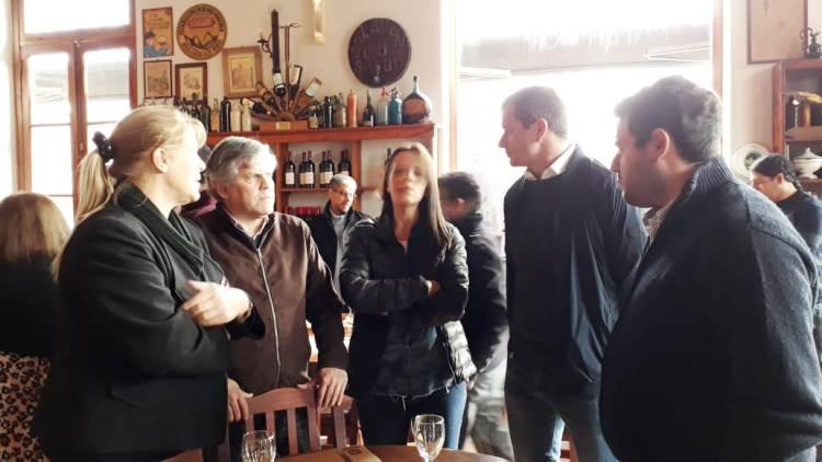 Cardozo se reunió con los candidatos provinciales de Consenso Federal