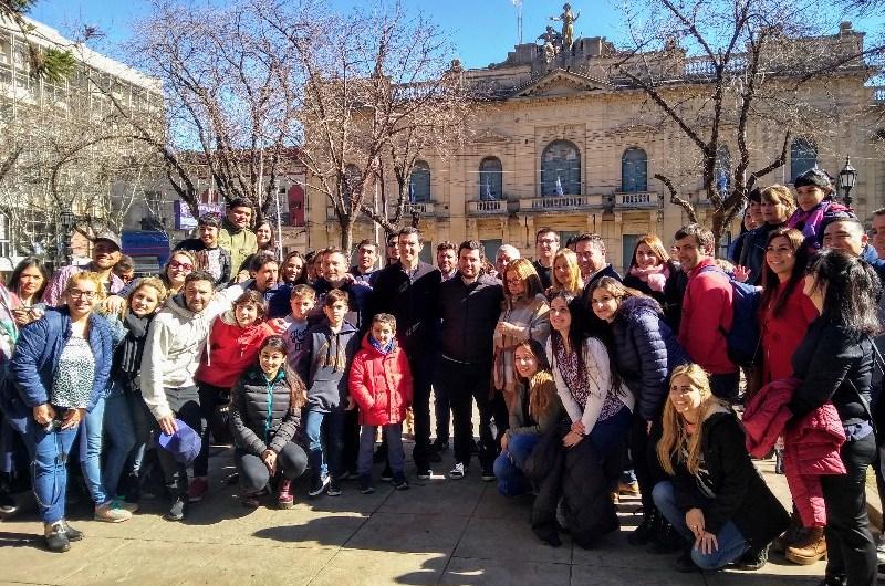 """Urtubey en Mercedes: """"El empuje de los jóvenes nos muestra que otra Argentina es posible»"""
