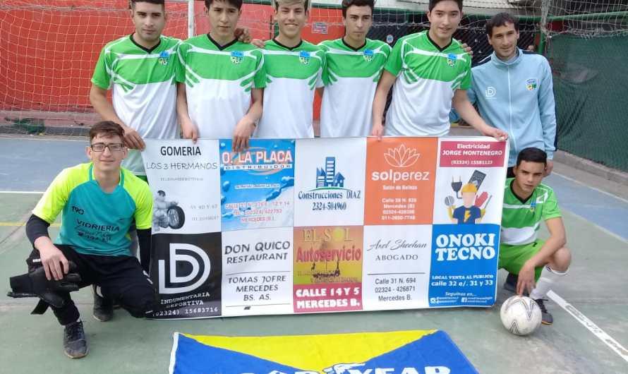 La Escuela de Futsal goleó a Estudiantes de Caseros