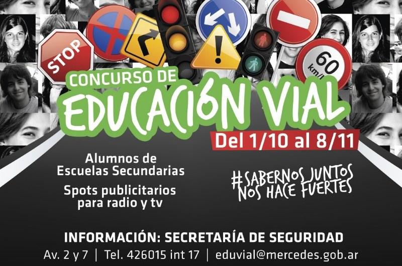Lanzan concurso de educación vial para alumnos del nivel secundario
