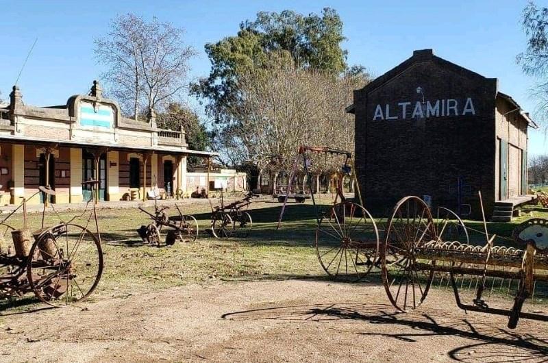 Festejan los 112 años de la llegada del tren a Altamira