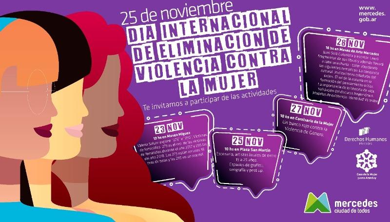 Diferentes actividades en el Día contra la violencia hacia las mujeres