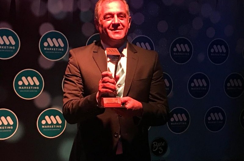 Premian a Aldo Franco con el Premio Mercurio al emprendedor