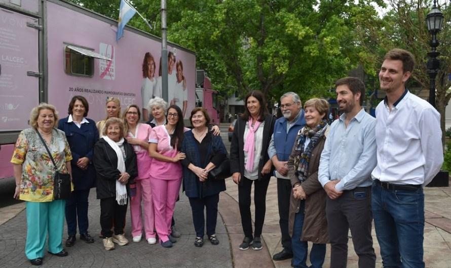 LALCEC realiza mamografías en Mercedes