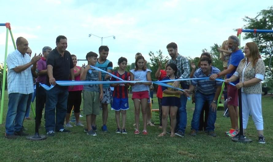 Inauguran «La Soñada», nueva plaza en Goldney