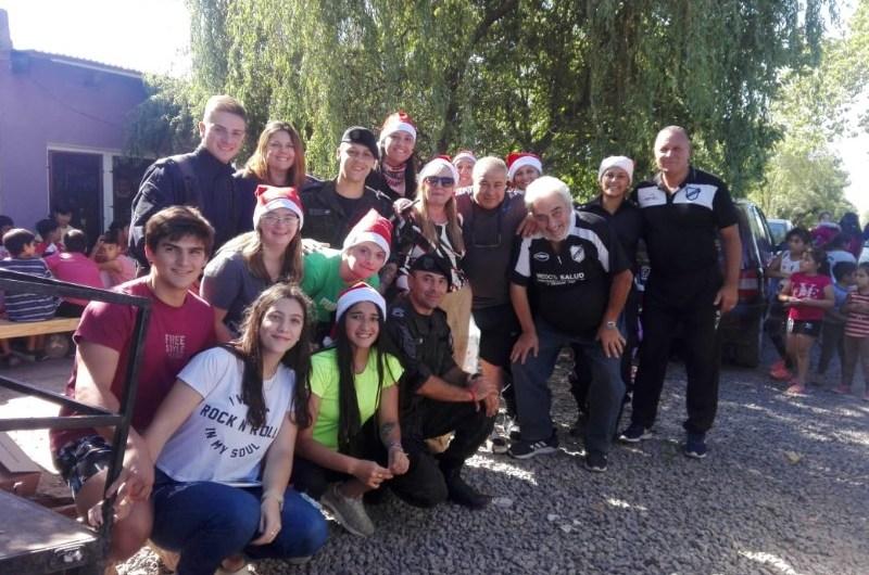 All Boys Solidario ayudó a tres comedores mercedinos