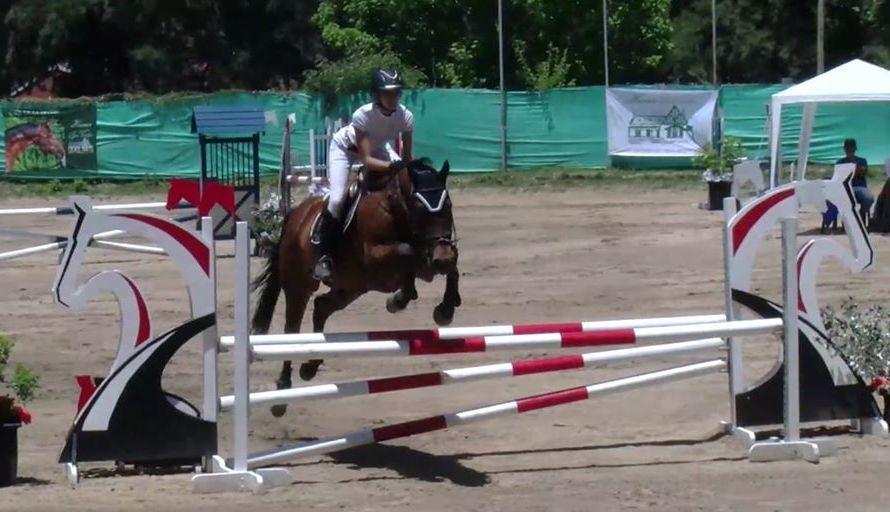 Margarita Bustos en el Campeonato Intercircuito