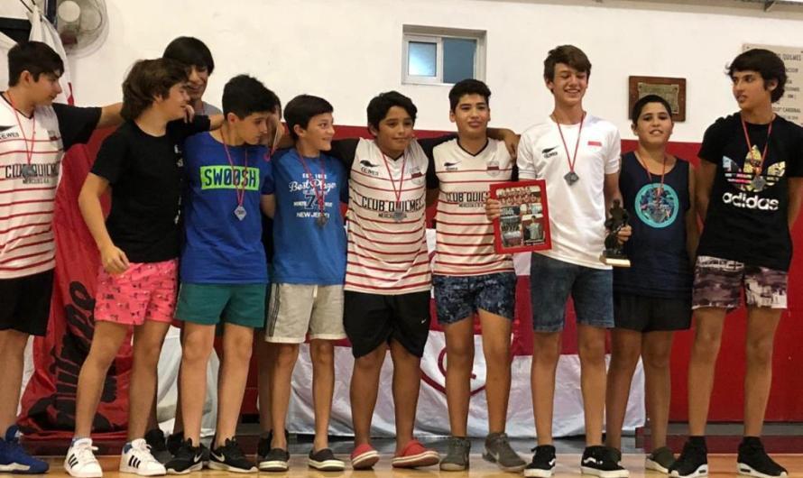 El básquet de Quilmes cerró su año con premios
