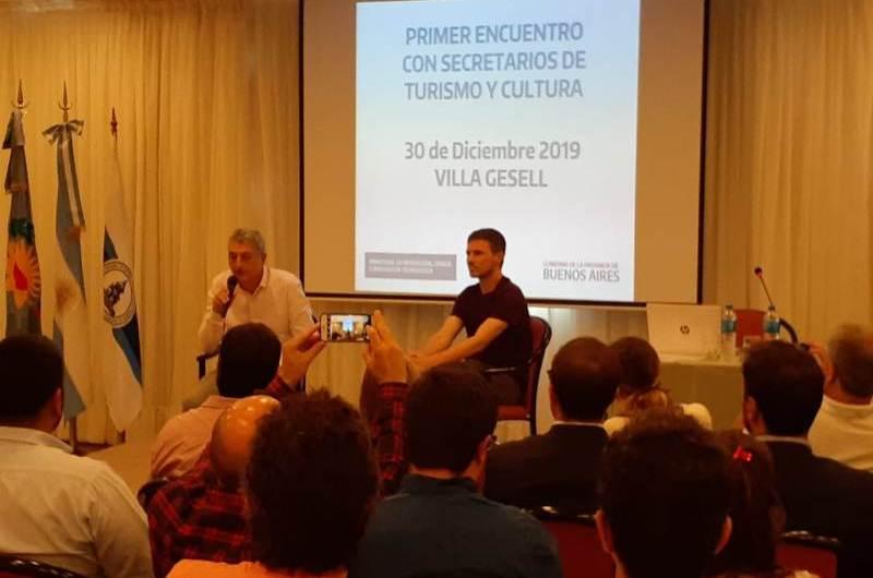 Reunión provincial de Turismo: presencia mercedina
