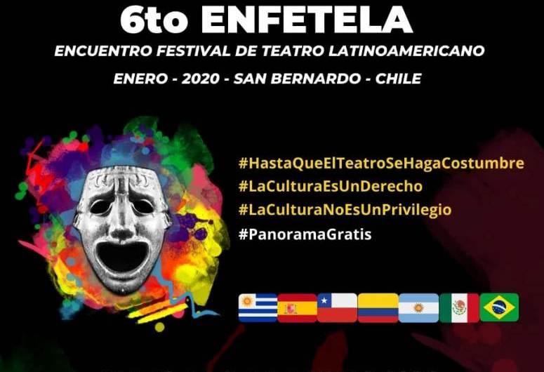 Organización El Negro Olmedo en encuentro teatral de Chile
