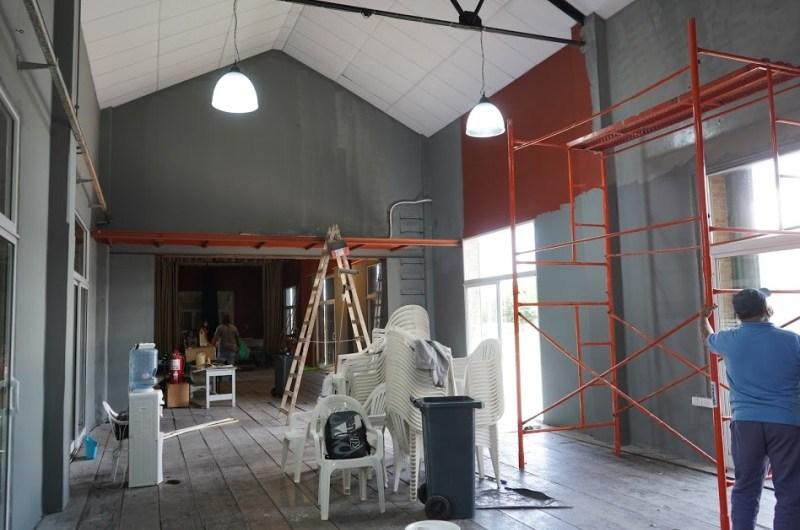 Remodelan galpones de La Trocha