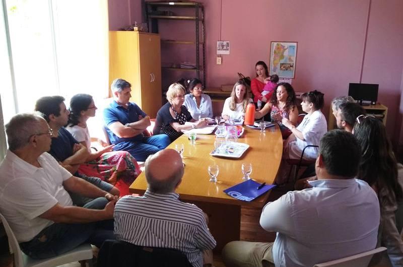 Concejales de JxC se reunieron con instituciones locales por empresa alemana
